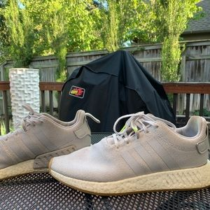 adidas Shoes - Adidas Boost with Tan Gum Sole